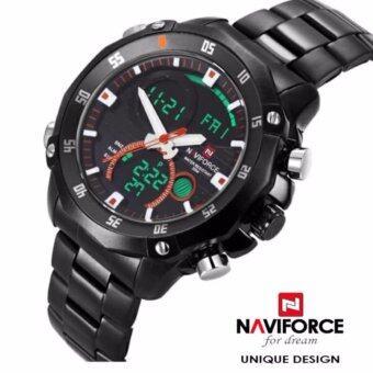 """ราคา นาฬิกาแฟชั่น NAVIFORCE """"NV039"""" P and P Fashion รับประกันสินค้าจากศูนย์,พร้อมกล่อง"""