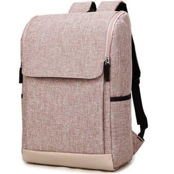 กระเป๋าสะพายหลัง Bolsa Mochila สำหรับแล็ปท็อป 14 นิ้ว 15 นิ้วกระเป๋าคอมพิวเตอร์โน้ตบุ๊คกระเป๋าเป้สะพายหลัง rucksack-สีกากี-ขนาดใหญ่
