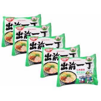 Nissin Kyushu Tonkotsu Flavour – นิชชิน บะหมี่รสทงโกะสุ น้ำหนัก 100กรัม แพค5