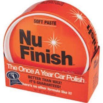 Nu Finish The Once A Year Car Polish (Soft Paste) น้ำยาขัดเคลือบเงาสีรถยนต์ สูตรครีม ขนาด 14oz