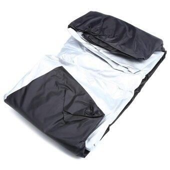 Nylon Waterproof Dustproof UV Protective Motorcycle Cover 2XL Size - intl