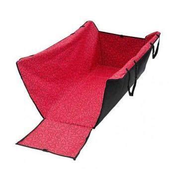 ประกาศขาย Oemgenuine ผ้าปูเบาะหลังรถยนต์ สำหรับสุนัข ป้องกันขนสุนัขติดเบาะ(สีแดง)