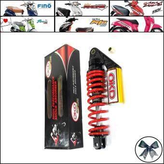 OKD โช๊คหลัง เดี่ยว มีกระปุก สปริงสีแดงสำหรับ มีโอ(MIO)ทุกรุ่น ฟีโน่(FINO)ทุกรุ่น คลิก(Click)และ คลิกไอ(Click-i)ทุกรุ่น สกู๊ปปี้ไอ(Scoopy-i)ทุกรุ่น Yamaha GT
