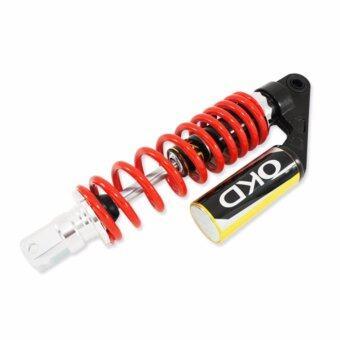 OKD โช๊คหลังแต่ง (มีกระบอก) MIO FINO CLICKสีแดง/กระบอกทอง