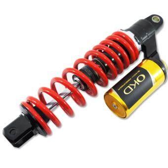 OKD โช๊คหลังแต่ง รุ่น STORM THOY (แก๊สแท้) สำหรับ MIO FINO CLICK สีแดง