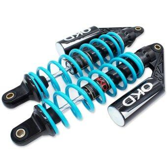 OKD โช๊คหลังแต่ง (แก๊ส) รุ่น THOY (สีฟ้าไนตรอน)