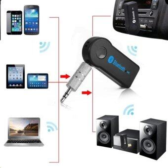Harga OMG Universal 3.5mm Car Bluetooth Audio Music receiver Adapter AutoAUX Streaming A2DP Kit for Speaker Headphone car charger HOT
