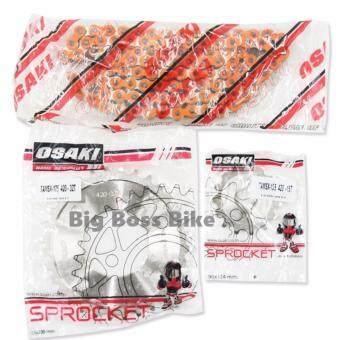 OSAKI โซ่-สเตอร์ สำหรับ MSXWAVE-125(420) 15-32-106L สีส้ม