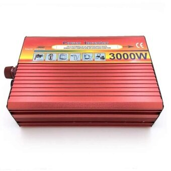 Peak 3000W Watts Real 1500W Power Inverter Converter 12V DC to 220V AC Charger - intl