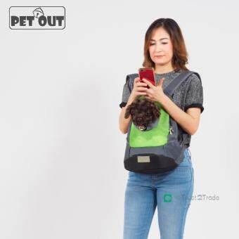Pet Out กระเป๋าเป้สะพายหน้าหลังสำหรับใส่สุนัข