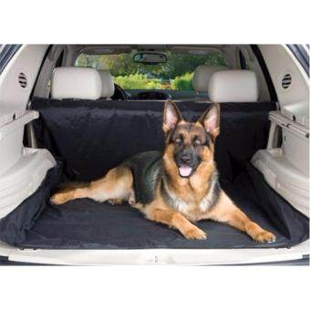 ผ้ารองปูเบาะสำหรับสัตว์เลี้ยงโดยเฉพาะในรถยนต์ กันน้ำ และ นิ่ม สะดวกสบายสำหรับสัตว์เลี้ยงเช่น สุนัข แมว (สีดำ)