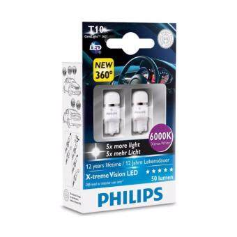 Philips T10 X-treme Vision LED 6000K
