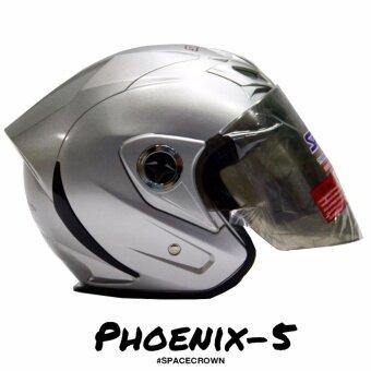 หมวกกันน็อครุ่น Phoenix-5 SPACE CROWN HELMET