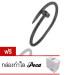 Poca Gems กำไล ข้อมือประดับคริสตัล Nail Bracelet รุ่น Cartierตะปูโลหะ (สีดำ) แถมฟรี กล่องกำไล Poca