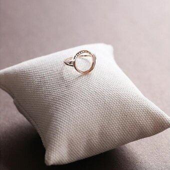 Poca Gems   RingsRound/PinkGold-(/) Poca - 5