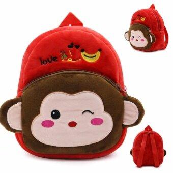 Poonpoon (0-3 ขวบ) กระเป๋าเป้เด็ก ลายลิง