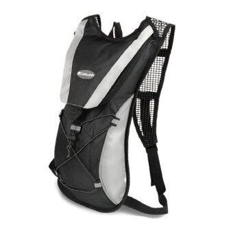 กระเป๋าเป้สะพายหลังสำหรับปั่นจักรยาน สีดำ