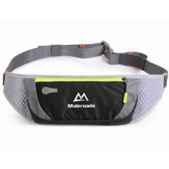 กระเป๋าคาดเอวสำหรับนักวิ่ง สีดำ