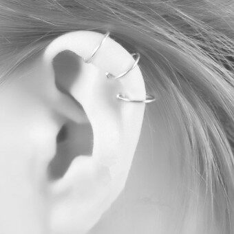ที่สวยหรูในยุโรปและอเมริกาใหม่ไม่เจ็บปวดหูแหวนหูคลิป