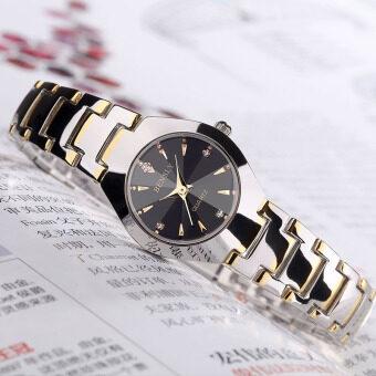 เกาหลีกันน้ำคู่นาฬิกาแฟชั่นสุภาพสตรีนาฬิกา