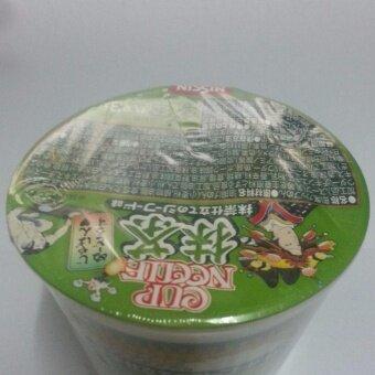 นิสชิน บะหมี่ถ้วยกึ่งสำเร็จรูปญี่ปุ่น รสชาเขียวซีฟู๊ด