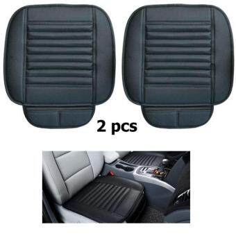 PU 2 Leather Car Seat Cover Striped Seats Cushion For Healthy Four Seasons