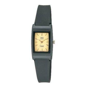 2561 Q and Q นาฬิกาผู้หญิง สีดำ สายเรซิ่น รุ่น VP33J003Y