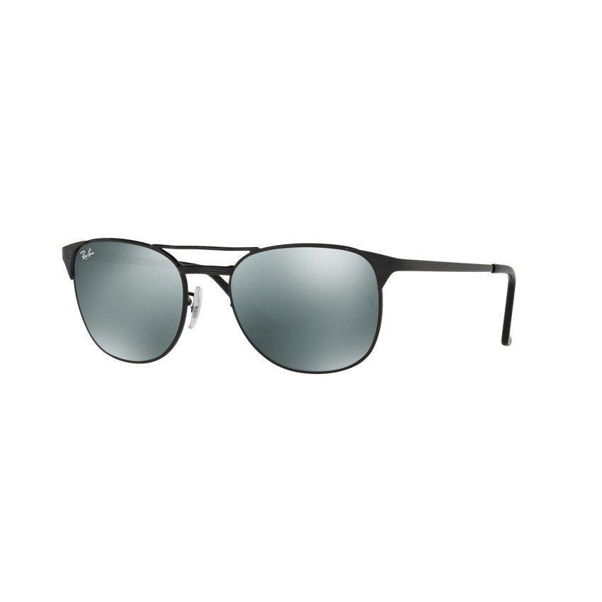 Ray-Ban แว่นกันแดด รุ่น - RB3429M - Shiny Black (002/40) Size 58 Mirror Grey
