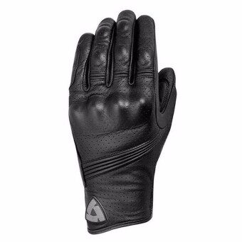 Revit Motorcycle Racing Gloves Riding Motorcycle Gloves Breathable Leather Gloves(Color:Black)(Size:XXL) - intl