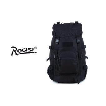 Rogisi กระเป๋าเป้ Backpack รุ่น camping backpack 45L สี ดำ