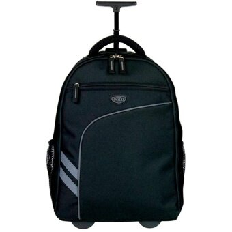 Romar Polo กระเป๋า กระเป๋าเป้ล้อลาก 18 นิ้ว รุ่น Polo R1234 (Black)