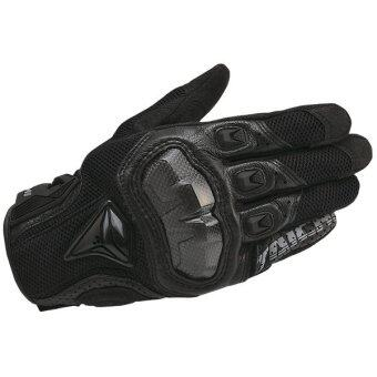 RS Taichi 391 Gloves Cycling Gloves Motorcycle Gloves Black (Intl)