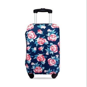 ผ้าคลุมกระเป๋าเดินทาง ขนาด S (19\-22\) ลายกุหลาบ