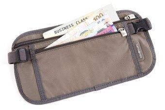 กระเป๋าคาดเอวสำหรับใส่เงิน MONEY BELT ( สี GREY )