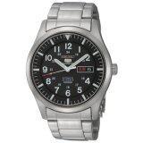 ยี่ห้อไหนดี  นนทบุรี Seiko 5 Automatic Black Dial Stainless Steel นาฬิกาข้อมือชาย SNZG13K1