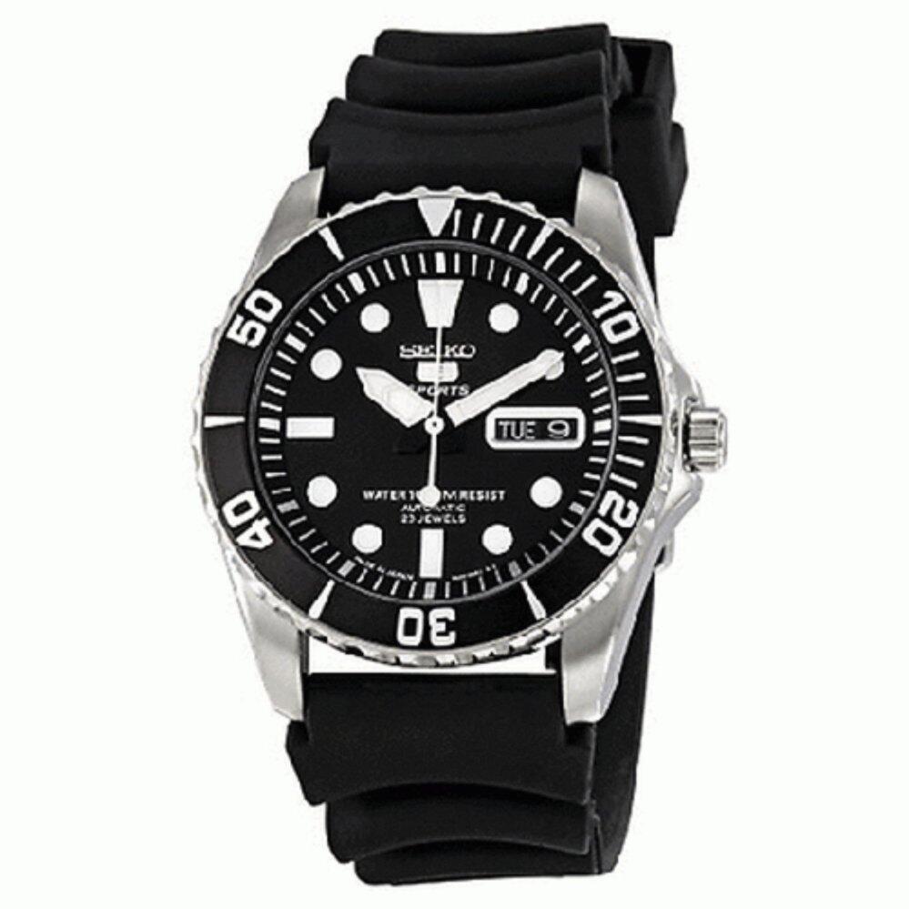 สุราษฎร์ธานี Karnvera Shop SEIKO 5 นาฬิกาข้อมือชาย STAINLESS STEEL CASE AUTOMATIC SNZF17J2 Men Watch (Made in Japan)