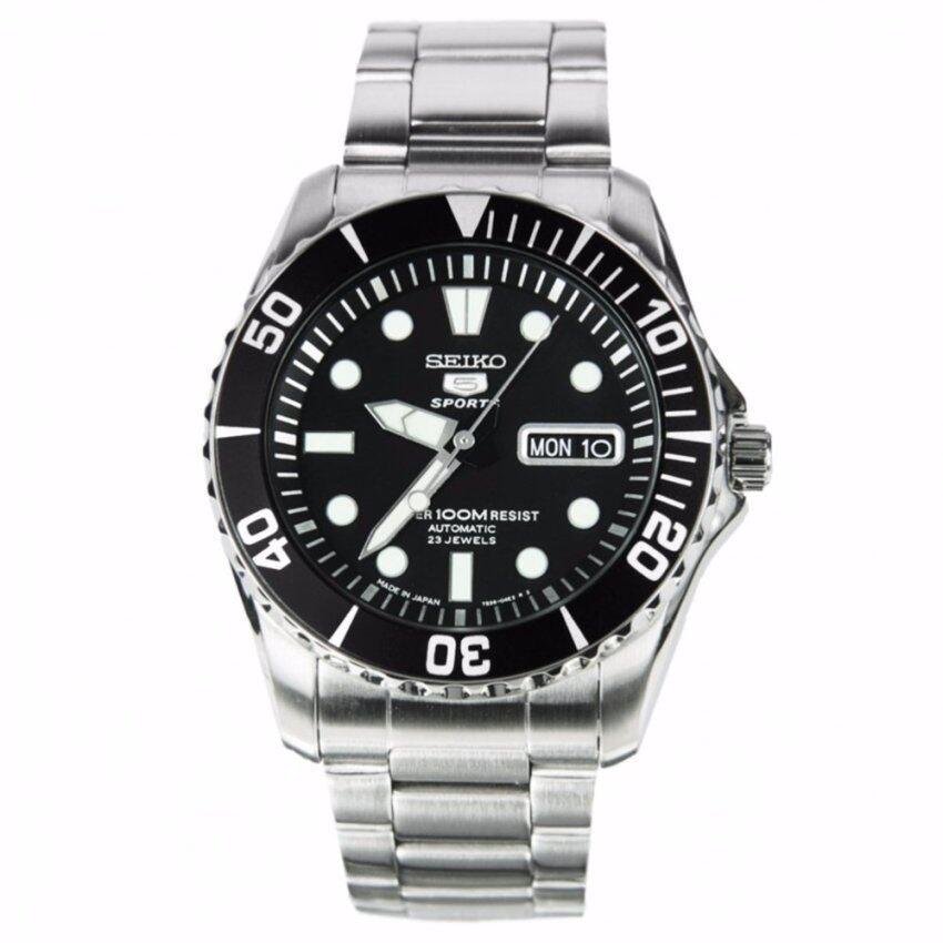 Seiko 5 Sport Automatic นาฬิกาข้อมือผู้ชาย รุ่น SNZF17J1 Made in Japan