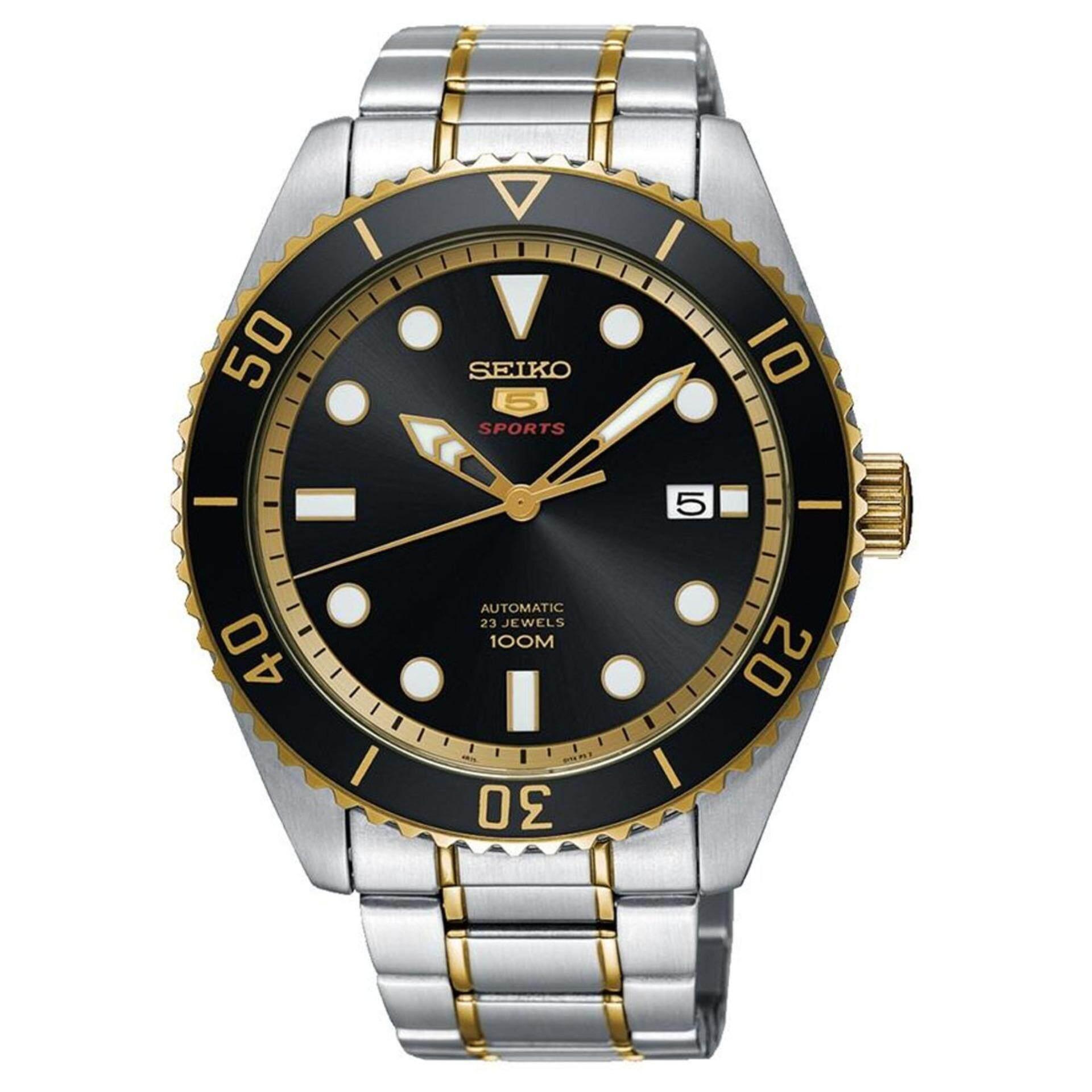 ยี่ห้อนี้ดีไหม  ชุมพร Karnvera Shop SEIKO 5 SPORTS นาฬิกาข้อมือผู้ชาย 23 JEWEL AUTOMATIC WATCH SRPB94J1  (MADE IN JAPAN)