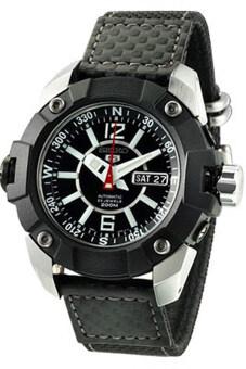 Seiko 5 Sports Automatic 4WD Men's Watch Black Strap รุ่น SKZ263K1