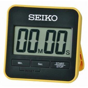 2561 SEIKO DIGITAL TIMER นาฬิกาจับเวลาถอยหลังพร้อมขาตั้ง รุ่น QHY001Y