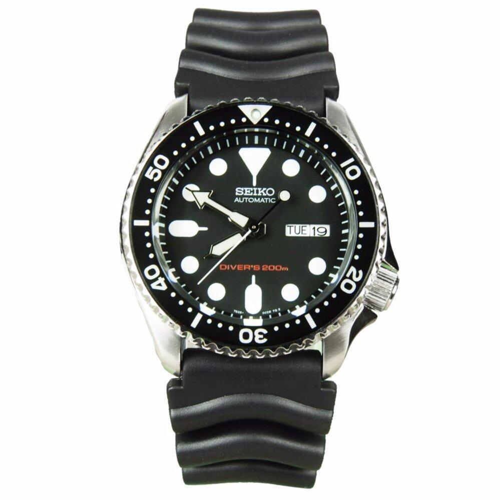 สอนใช้งาน  ลพบุรี  SEIKO  นาฬิกาผู้ชาย Automatic Diver 200M Men s Watch รุ่น SKX007K1 - Black