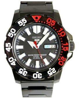 ราคา Seiko นาฬิกาผู้ชาย สายสเตนเลส รุ่น SNZF53K1 - สีดำ