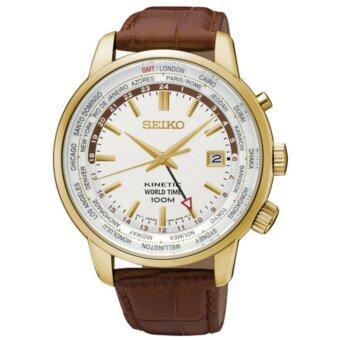 ประเทศไทย SEIKO นาฬิกาชาย Watch KINETIC NEO SPORTS GOLD SUN070P1