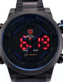 Shark นาฬิกาข้อมือ GULPERSHARK 1st COLLECTION BLACK BLUE - 2