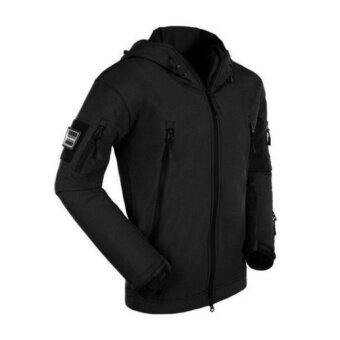 เสื้อแจ็คเก็ต เสื้อกันหนาว shark skin กันลมและอากาศเย็นได้เป็นอย่างดี ผ้ากันน้ำ
