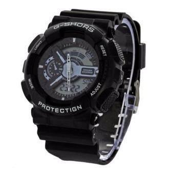 SHHORS GOLD Sport Watch นาฬิกาข้อมือ นาฬิกาสปอร์ต นาฬิกาออกกำลังกายสไตล์นักกีฬา นาฬิกากันน้ำ สไตส์ นาฬิกาG Shock