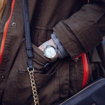 SK Fashion Watch Geneva Women Watches Womens Dress Classical Stainless Steel Band Quartz Wrist Watches Reloj Mujer Mesh Hour - intl