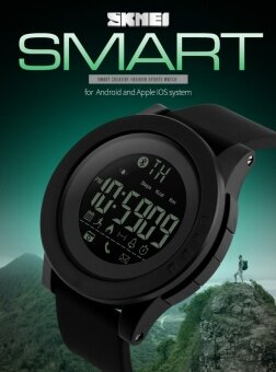 SKMEI Brand Watch Men's Women Smart Sport Watch Bluetooth Calorie\nPedometer Fashion Watches Apple IOS Android Men Digital\nSmartWatch1255 - intl