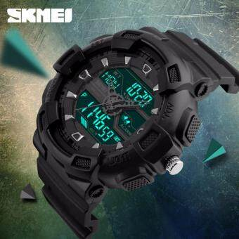 รีวิว SKMEI Digital Watch Men Multifunction 50M Waterproof LED MilitaryCasual Sports Watches Dual Time Analog Digital