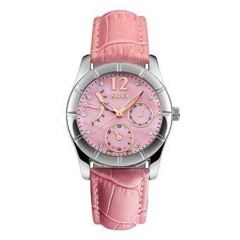 สำหรับผู้หญิงยี่ห้อ SKMEI Understated ความสง่างามร้อนขายแฟชั่นกันน้ำนาฬิกาควอตซ์ - นานาชาติ